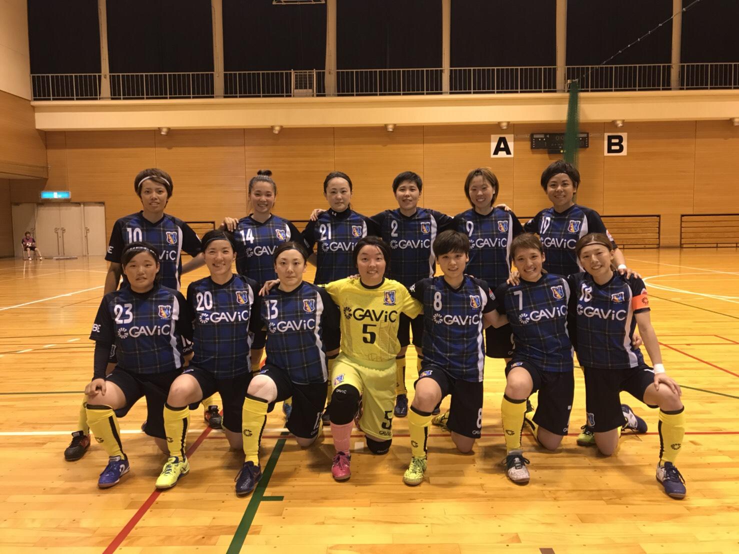 【勝利】関西女子フットサルリーグ2018 開幕3連勝