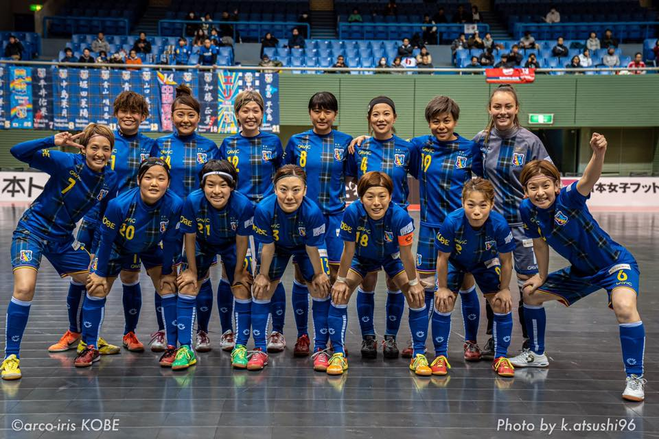 日本女子フットサルリーグプレーオフ準決勝 第1戦を6-3で先勝!!